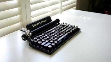 Retro klawiatura dla fanów maszyn do pisania